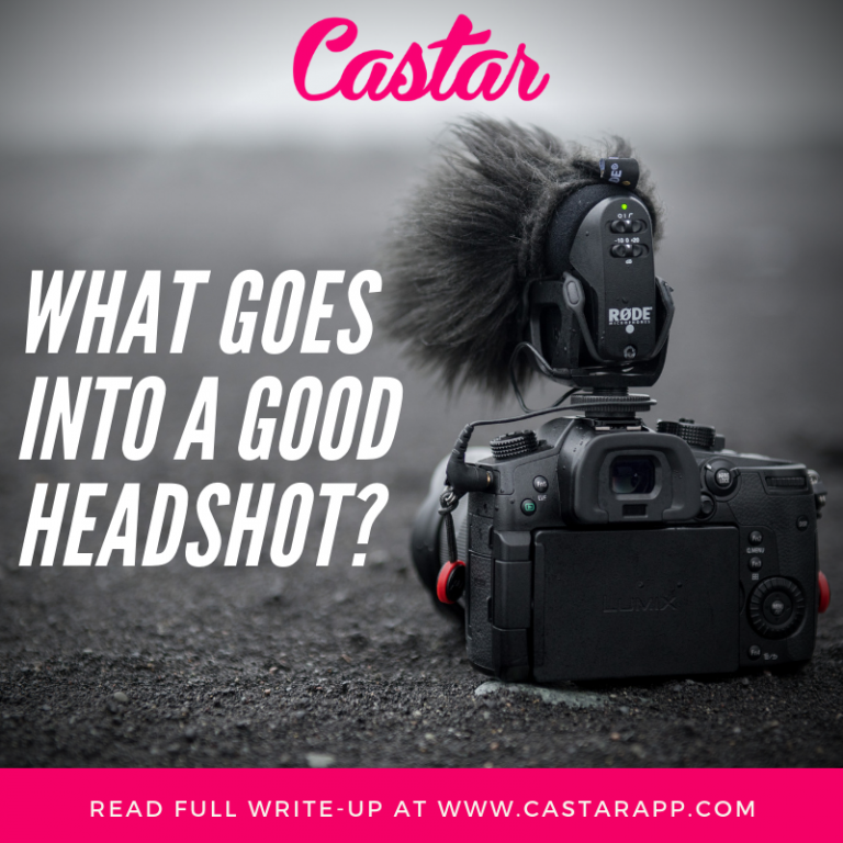 What Goes Into a Good Headshot?