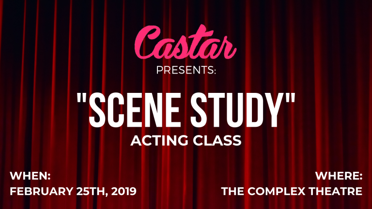 "Castar Presents: ""Scene Study"" Acting Class"